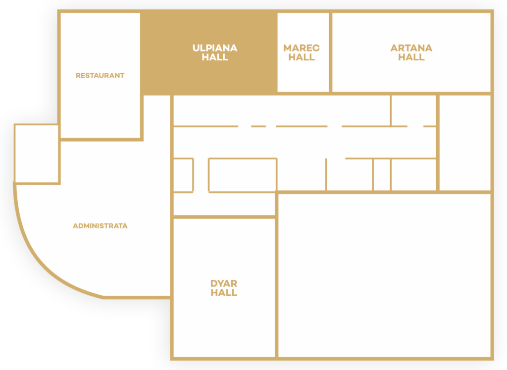 Ulpiana Floor Plan